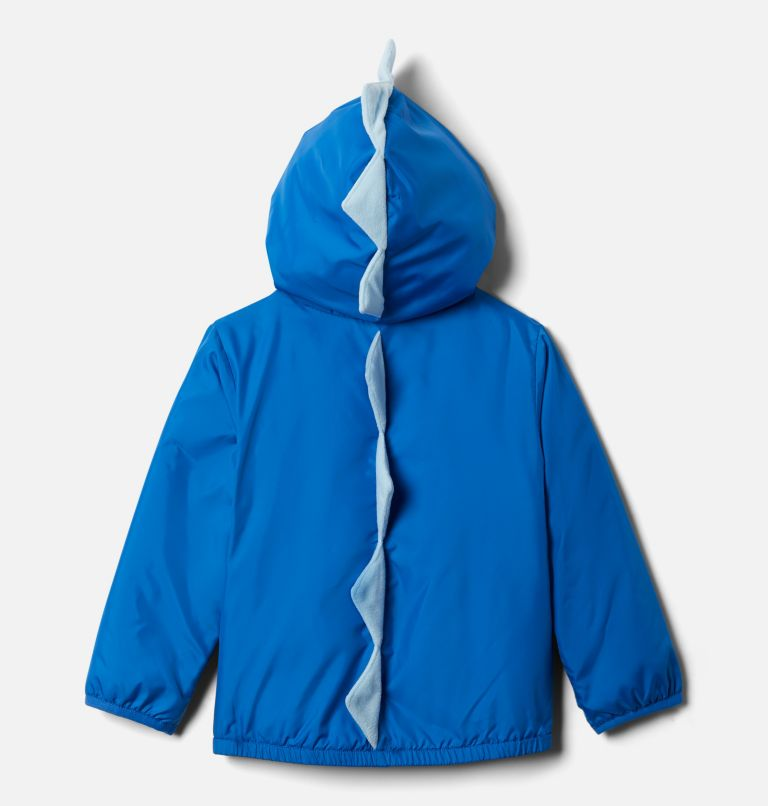 Kitterwibbit™ Jacket | 432 | 4T Toddler Kitterwibbit™ Hooded Fleece Lined Jacket, Bright Indigo, Sky Blue, back