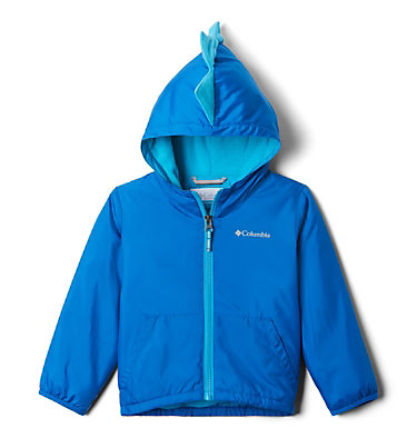 Toddler Kitterwibbit™ Hooded Fleece Lined Jacket Kitterwibbit™ Jacket | 439 | 2T, Super Blue, Ocean Blue, back
