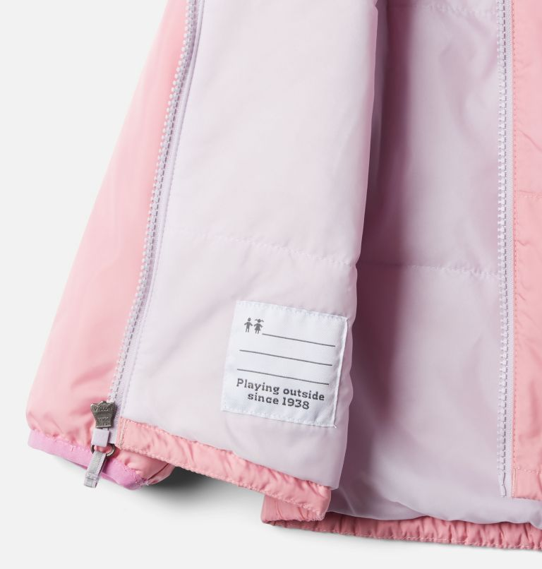 Kitterwibbit™ Jacket | 689 | 4T Toddler Kitterwibbit™ Hooded Fleece Lined Jacket, Pink Orchid, Pale Lilac, a2