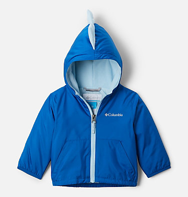 Infant Kitterwibbit™ Hooded Fleece Lined Jacket Kitterwibbit™ Jacket | 432 | 12/18, Bright Indigo, Sky Blue, back