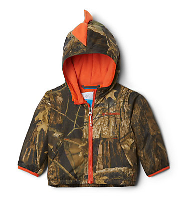 Infant Kitterwibbit™ Hooded Fleece Lined Jacket Kitterwibbit™ Jacket | 432 | 12/18, Timberwolf, back