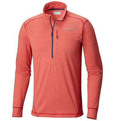 Camisa con media cremallera Diamond Peak™ para hombre , front