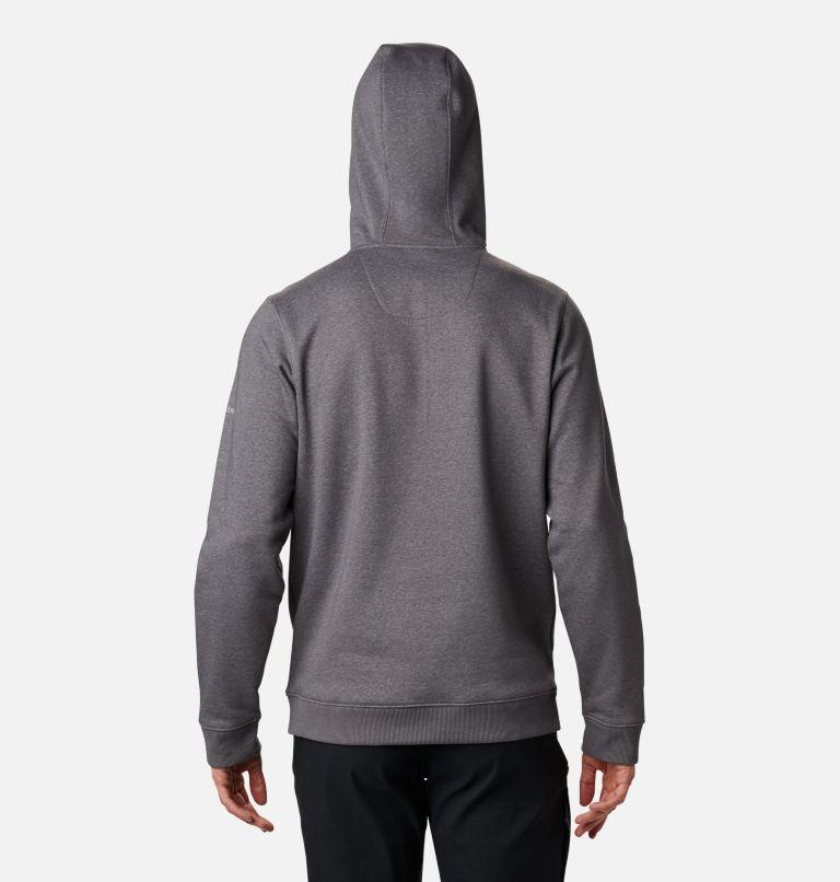 CSC Basic Logo™ II Hoodie | 023 | XXL Men's CSC Basic Logo™ II Hoodie, City Grey Heather, Columbia Grey, back