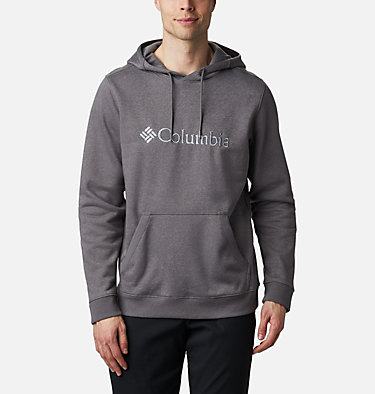 Men's CSC Basic Logo™ II Hoodie CSC Basic Logo™ II Hoodie | 023 | S, City Grey Heather, Columbia Grey, front