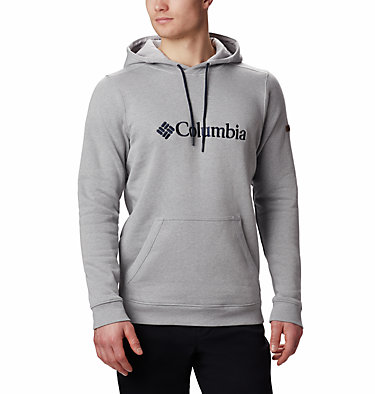 Men's CSC Basic Logo™ II Hoodie CSC Basic Logo™ II Hoodie | 023 | S, Columbia Grey, Heather, front