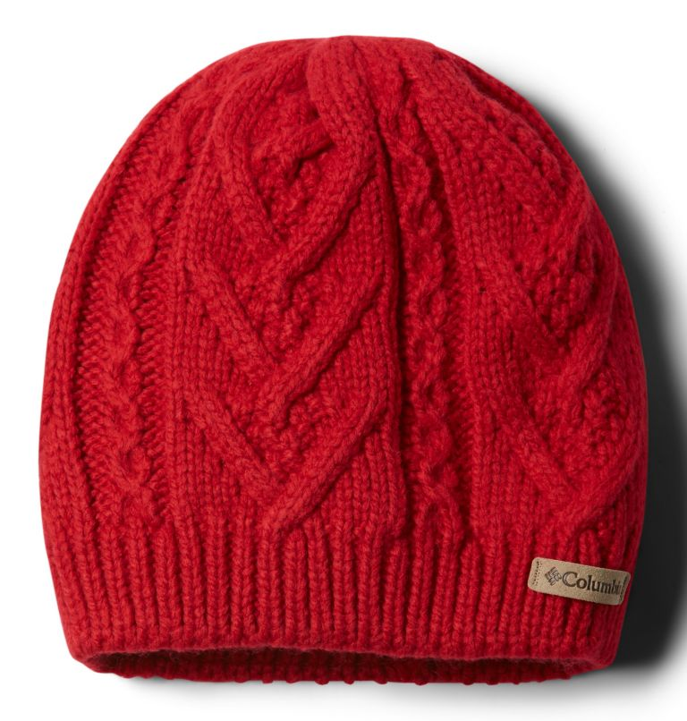 Parallel Peak™ II Beanie | 658 | O/S Women's Parallel Peak™ II Beanie, Red Lily, front