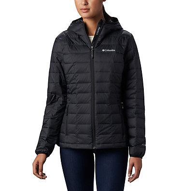 Women's Voodoo Falls™ 590 TurboDown™ Hooded Jacket Voodoo Falls™ 590 TurboDown™ Hdd Jacket | 473 | XS, Black, front