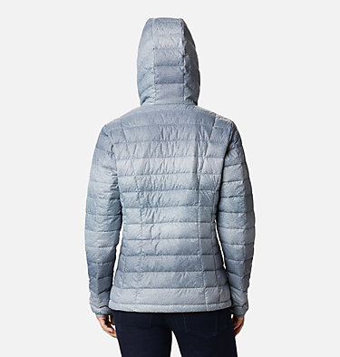 Women's Voodoo Falls™ 590 TurboDown™ Hooded Jacket Voodoo Falls™ 590 TurboDown™ Hdd Jacket | 473 | XS, Grey Ash Spotty Ombre Print, back
