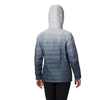 Women's Voodoo Falls™ 590 TurboDown™ Hooded Jacket Voodoo Falls™ 590 TurboDown™ Hdd Jacket | 473 | XS, Tradewinds Grey Gradient Print, back