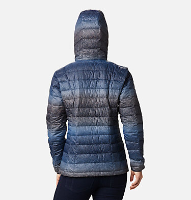 Women's Voodoo Falls™ 590 TurboDown™ Hooded Jacket Voodoo Falls™ 590 TurboDown™ Hdd Jacket | 473 | XS, Dark Nocturnal Spotty Hombre Print, back