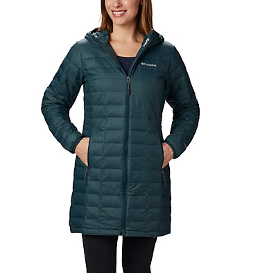Veste mi-longue Voodoo Falls 590 TurboDown™ pour femme Voodoo Falls™ 590 TurboDown™ Mid Jacket | 671 | XL, Dark Seas, front