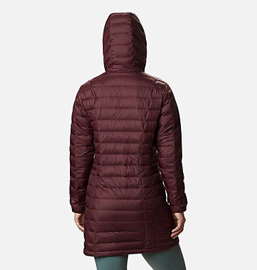 Women's Voodoo Falls 590 TurboDown™ Mid Jacket Voodoo Falls™ 590 TurboDown™ Mid Jacket | 671 | XL, Malbec, back