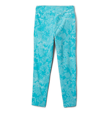 Legging imprimé en laine polaire Glacial™ pour fille Glacial™ Printed Legging | 613 | XXS, Geyser Camo, back