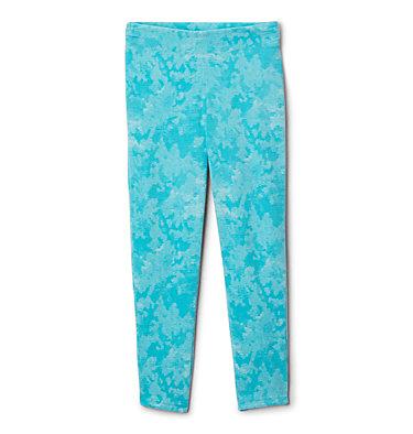 Legging imprimé en laine polaire Glacial™ pour fille Glacial™ Printed Legging | 613 | XXS, Geyser Camo, front