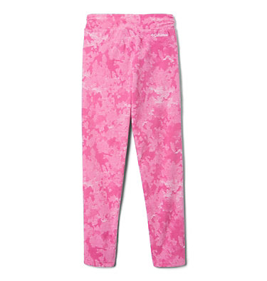 Girl's Glacial™ Printed Leggings Glacial™ Printed Legging | 695 | L, Pink Ice Camo, back