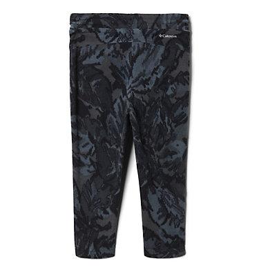 Girls' Toddler Glacial™ Printed Fleece Leggings Glacial™ Printed Legging | 613 | 2T, Black Leafscape Print, back