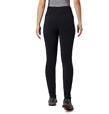 Women's Glacial™ Fleece Printed Legging Pant Glacial™ Fleece Printed Legging | 014 | L, Black, back