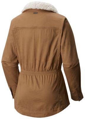 Manteau laine polaire femme