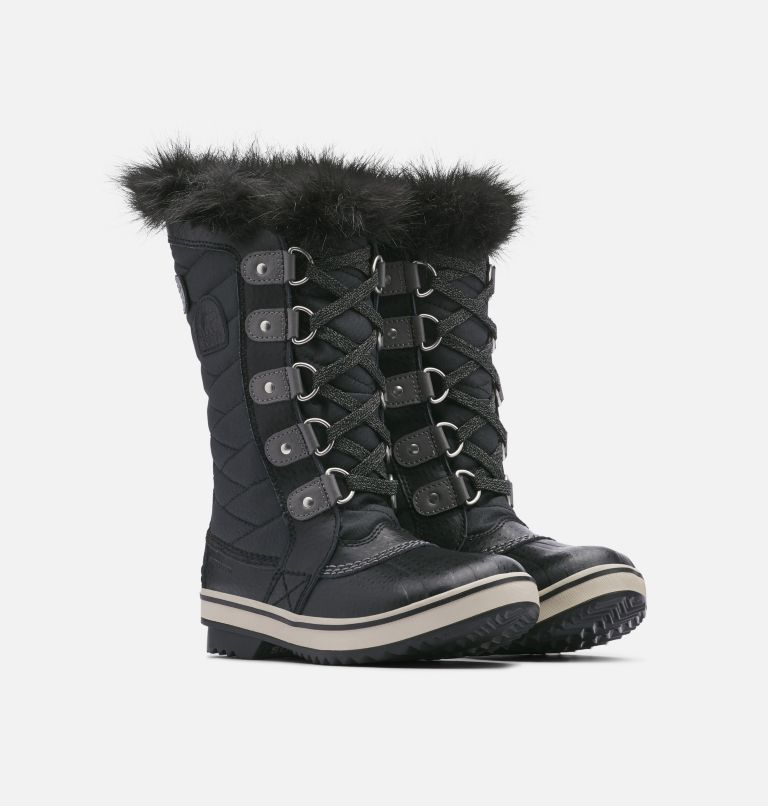 YOUTH TOFINO™ II | 010 | 3 Youth Tofino™ II Boot, Black, Quarry, 3/4 front