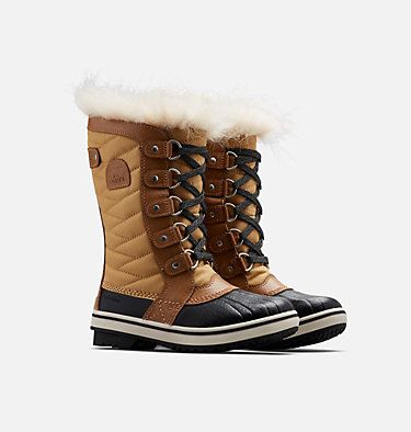 Big Kids' Tofino™ II Boot YOUTH TOFINO™ II | 373 | 1, Curry, Elk, 3/4 front