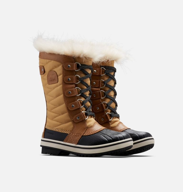 YOUTH TOFINO™ II | 373 | 2 Youth Tofino™ II Snow Boot, Curry, Elk, 3/4 front