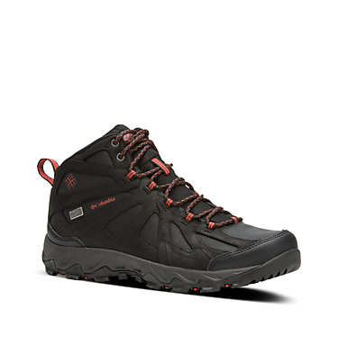 Men's Peakfreak XCRSN II Mid Leather OutDry™ Trail Shoe , 3/4 front