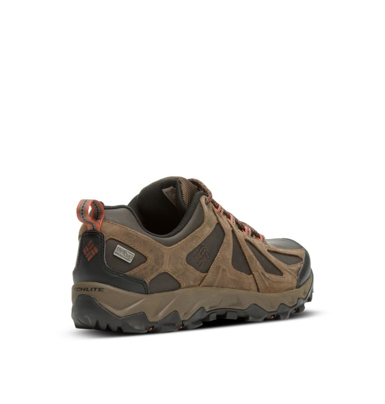 Men's Peakfreak XCRSN II Low Leather OutDry™ Trail Shoe Men's Peakfreak XCRSN II Low Leather OutDry™ Trail Shoe, 3/4 back