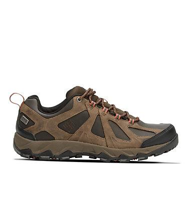 Men's Peakfreak XCRSN II Low Leather OutDry™ Trail Shoe PEAKFREAK™ XCRSN II LOW LEATHE | 010 | 7.5, Cordovan, Sanguine, front
