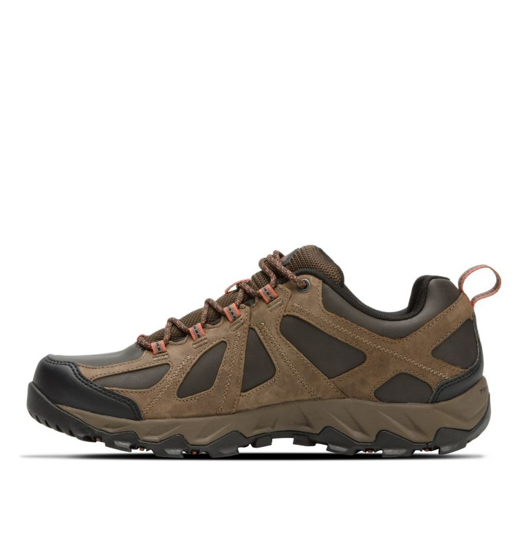 Men's Peakfreak XCRSN II Low Leather OutDry™ Trail Shoe Men's Peakfreak XCRSN II Low Leather OutDry™ Trail Shoe, medial