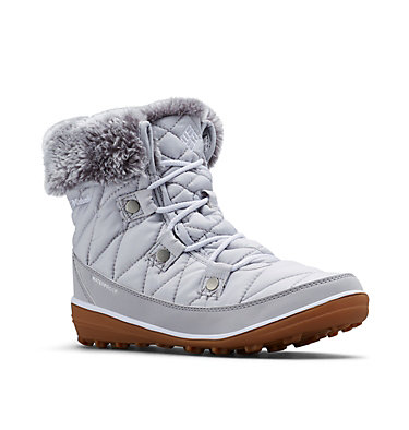 Women's Heavenly™ Shorty Omni-Heat™ Boot HEAVENLY™ SHORTY OMNI-HEAT™ | 010 | 5, Grey Ice, White, 3/4 front