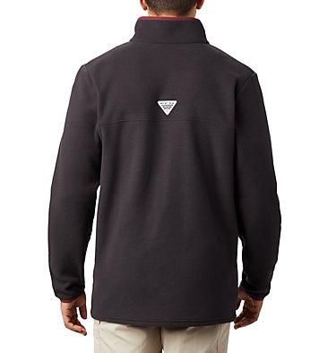 Men's Collegiate PFG Harborside™ Fleece Jacket - Texas A & M CLG Harborside™ Fleece Pullover | 099 | S, TAM - Black, back