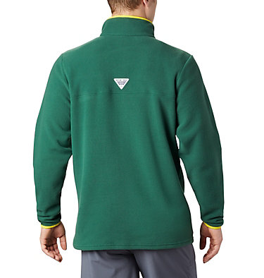 Men's Collegiate PFG Harborside™ Fleece Jacket - Oregon  Collegiate Harborside™ Fleece  | 346 | XXL, UO - Forest, back