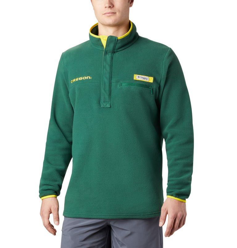 Collegiate Harborside™ Fleece  | 346 | XL Men's Collegiate PFG Harborside™ Fleece Jacket - Oregon , UO - Forest, front