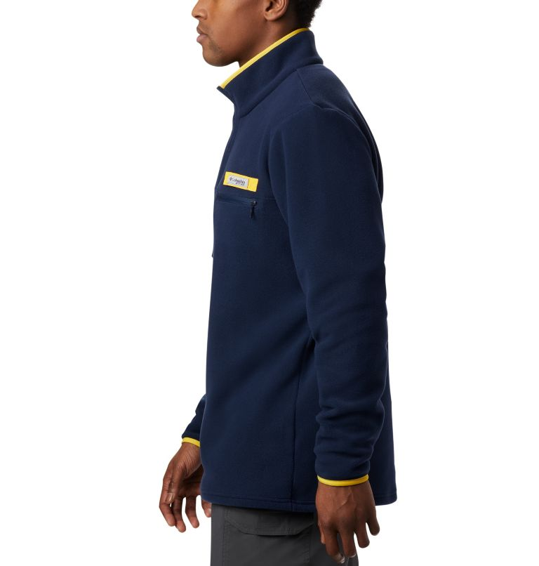 Men's Collegiate PFG Harborside™ Fleece Jacket - Michigan Men's Collegiate PFG Harborside™ Fleece Jacket - Michigan, a3