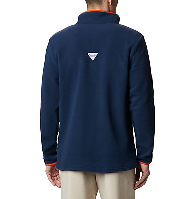 Men's Collegiate PFG Harborside™ Fleece - Auburn CLG Harborside™ Fleece Pullover | 474 | XL, AUB - Collegiate Navy, back