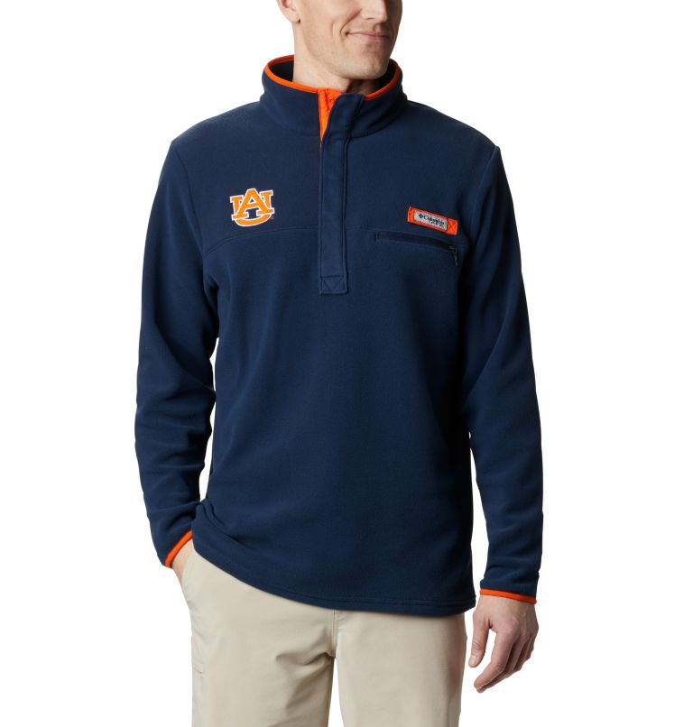 Men's Collegiate PFG Harborside™ Fleece - Auburn Men's Collegiate PFG Harborside™ Fleece - Auburn, front