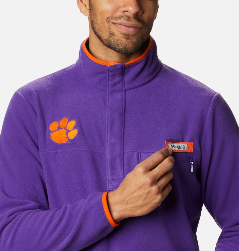 Men's Collegiate PFG Harborside™ Fleece Jacket - Clemson Men's Collegiate PFG Harborside™ Fleece Jacket - Clemson, a2