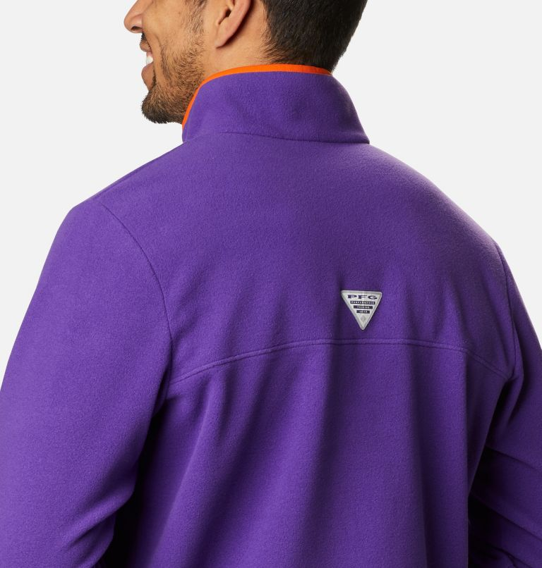 Men's Collegiate PFG Harborside™ Fleece Jacket - Clemson Men's Collegiate PFG Harborside™ Fleece Jacket - Clemson, a3