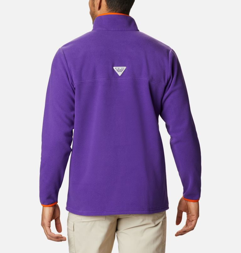 Men's Collegiate PFG Harborside™ Fleece Jacket - Clemson Men's Collegiate PFG Harborside™ Fleece Jacket - Clemson, back
