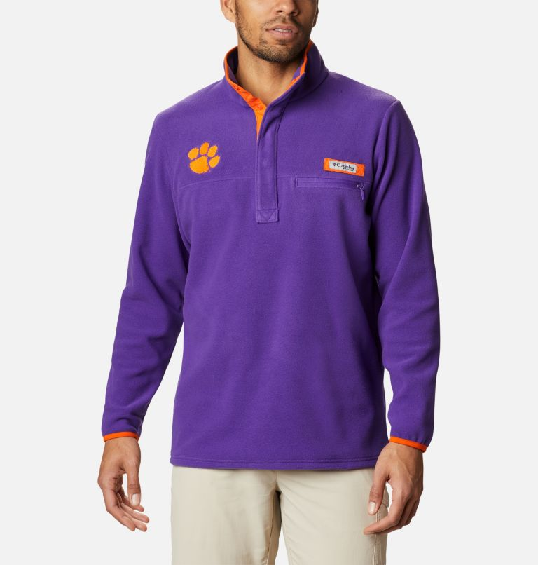 Men's Collegiate PFG Harborside™ Fleece Jacket - Clemson Men's Collegiate PFG Harborside™ Fleece Jacket - Clemson, front