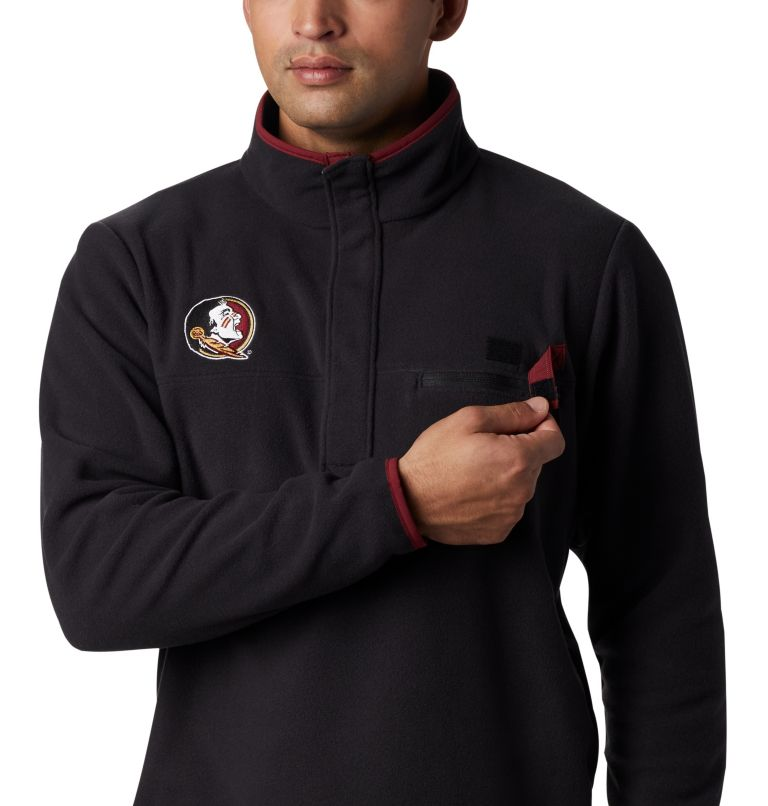 CLG Harborside™ Fleece Pullover | 787 | XL Men's Collegiate PFG Harborside™ Fleece - Florida State, FSU - Black, a2