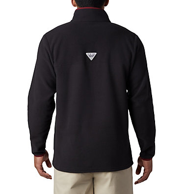 Men's Collegiate PFG Harborside™ Fleece - Florida State CLG Harborside™ Fleece Pullover | 787 | L, FSU - Black, back