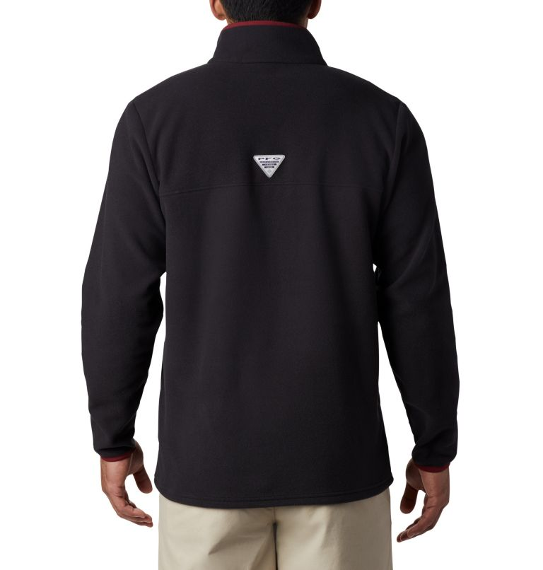 CLG Harborside™ Fleece Pullover | 787 | S Men's Collegiate PFG Harborside™ Fleece Jacket, FSU - Black, back