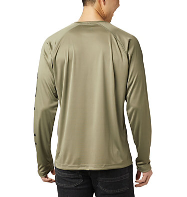 T-shirt à manches longues Fork Stream™ pour homme Fork Stream™ Long Sleeve Shirt | 013 | L, Sage, Black, back
