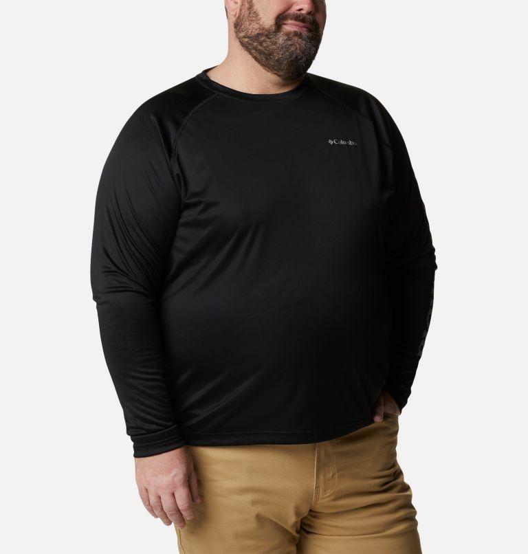 Fork Stream™ Long Sleeve Shirt | 013 | 3X Men's Fork Stream™ Long Sleeve Shirt – Big, Black, City Grey Logo, a3
