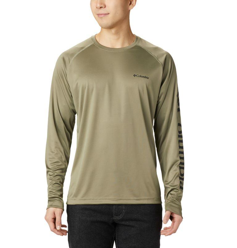Fork Stream™ Long Sleeve Shirt | 365 | 2XT Men's Fork Stream™ Long Sleeve Shirt – Tall, Sage, Black, front