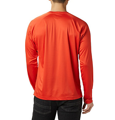 Men's Fork Stream™ Long Sleeve Shirt – Tall Fork Stream™ Long Sleeve Shirt | 013 | 2XT, Wildfire, White, back