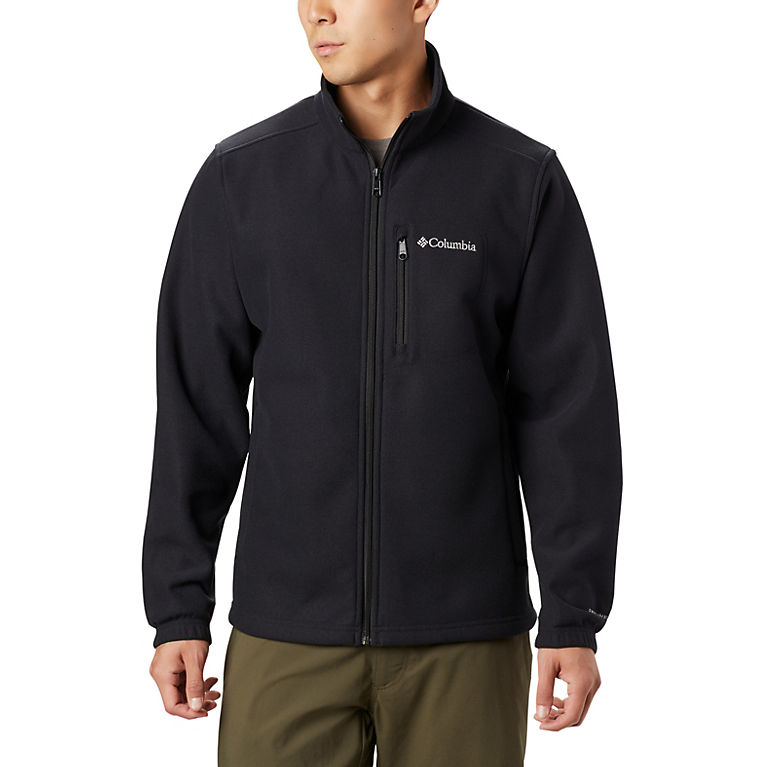 Black Men's Hot Dots™ III Full Zip Fleece, View 0