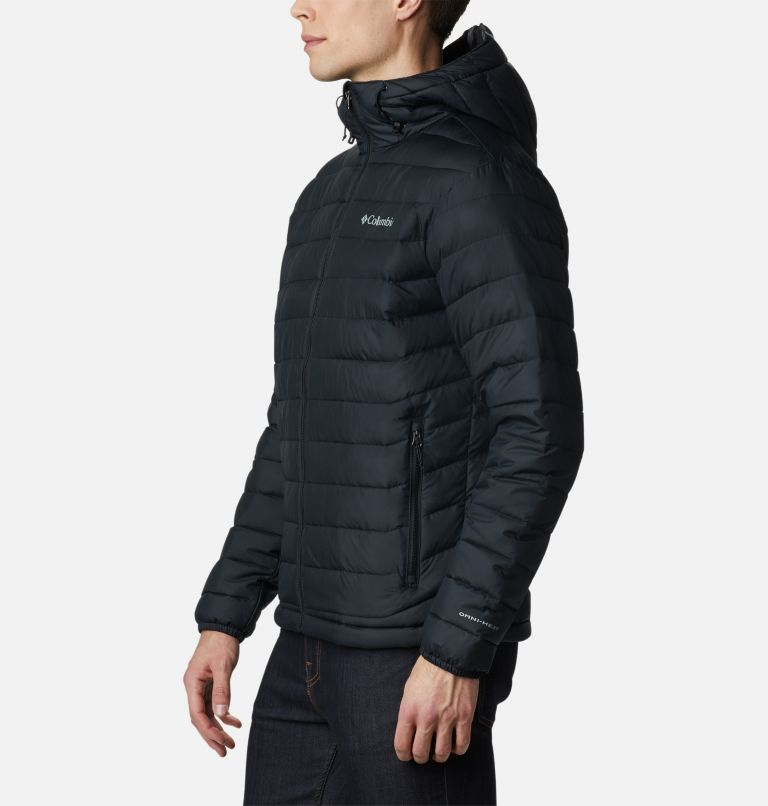 Powder Lite™ Hooded Jacket | 010 | L Doudoune à capuche Powder Lite™ Homme, Black, a1