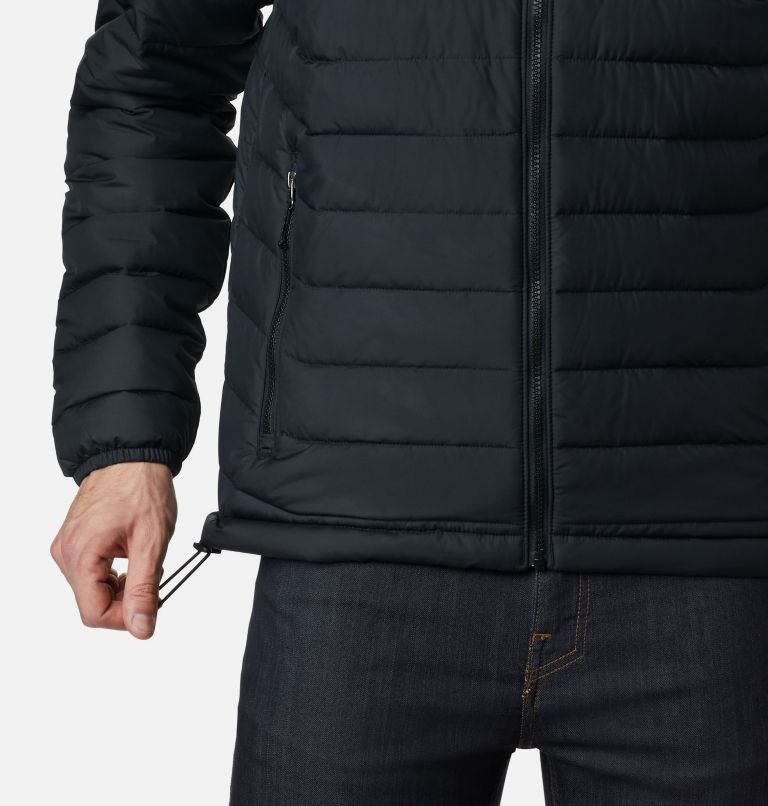 Powder Lite™ Hooded Jacket | 010 | XXL Men's Powder Lite™ Hooded Insulated Jacket, Black, a4